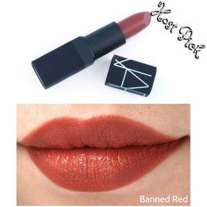 Host Pick NARS Satin Lipstick - Banned Red