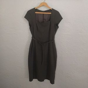 H&M fitted sheath dress