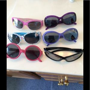 Other - BUNDLE OF 6 GIRLS SUNGLASSES