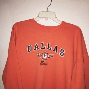 Vintage Dallas Crewneck Sweatshirt