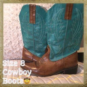 Shoes - Cowboy boots.