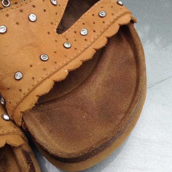 Birkenstock Betula Tan Bling Birkenstock Sandals 38 From