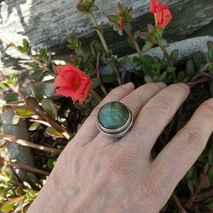 Jewelry - NWT Sterling Silver Labradorite Ring
