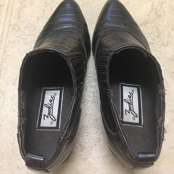 57 Off Zodiac Shoes Vintage Zodiac Western Ankle Cowboy