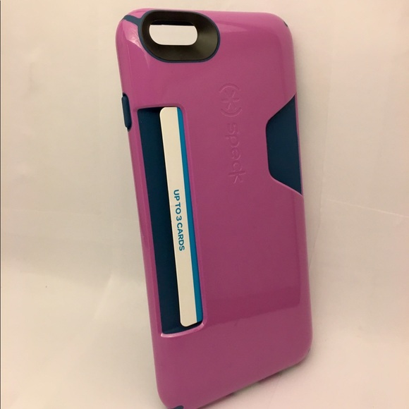 Speck Iphone  Plus Case With Card Holder