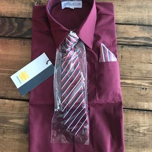 Other - Baby boy tie and pocket square