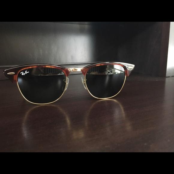 FLASH SALE Ray-Ban Clubmaster Sunglasses. M 5956c7bdf092820c1c0035bb def0ae28f