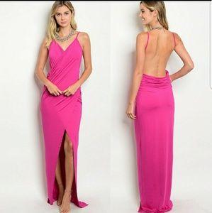 Dresses & Skirts - 🍸Bombshell, long dropped open back maxi