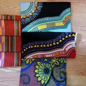 Other - African print head wraps