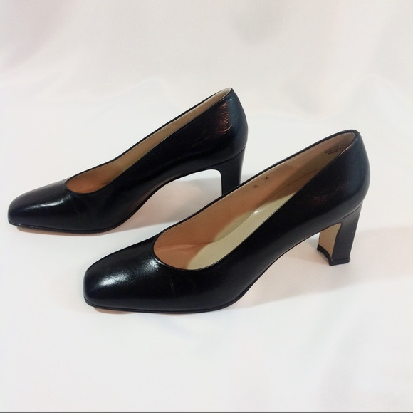 Etienne Aigner Shoes Black Heels Size