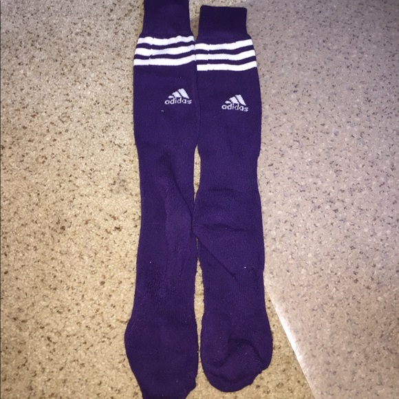 bf8db9147026 adidas Other - Purple Adidas Long Soccer socks