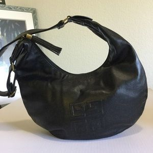 Givenchy Parfums Black Faux Leather Bag