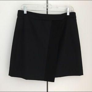 J. Crew Origami skirt in tux stripe
