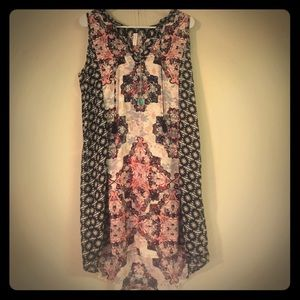 SUPER CUTE HI/LO DRESS, SIZE L, NWOT