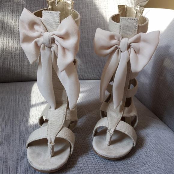 5c365ee51a1 Joyfolie Other - Joyfolie Alexa Gladiator Sandals Gardenia 7t