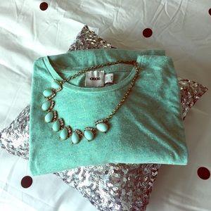 ASOS nwot hi-lo cotton mint green tee 6
