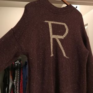 Universal Orlando Sweaters R Is For Ron Universal Harry Potter