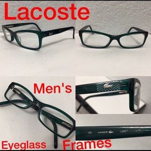 Lacoste Eyeglass Frames