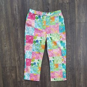 Lilly Pulitzer Crop Pants - size 6