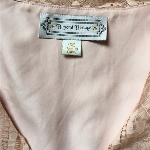 Anthropologie Blushed Lace Blouse 49