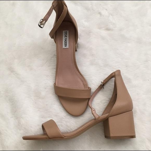 06f50c91997 Steve Madden Irene tan nude low heel