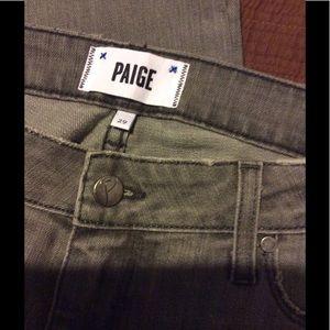 Paige Denim Jimmy Jimmy Skinny Boyfriend Size 29