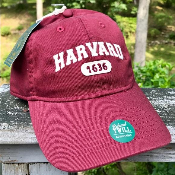 Harvard University Adjustable Hat 76504b777fc3