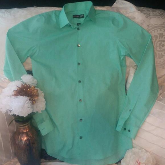 Jf j ferrar men 39 s button dress shirt from for J ferrar military shirt