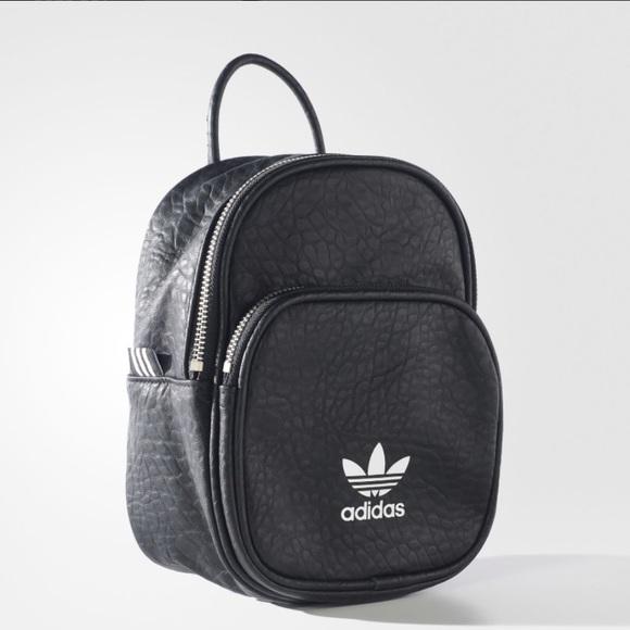 adidas Bags   Classic Mini Backpack   Poshmark 12bfe010df