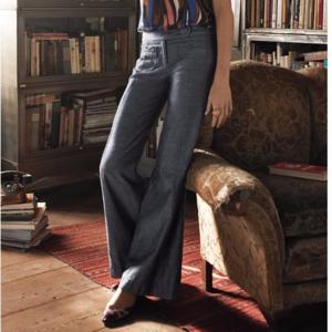 Anthropologie elevenses wide leg trouser pants 0