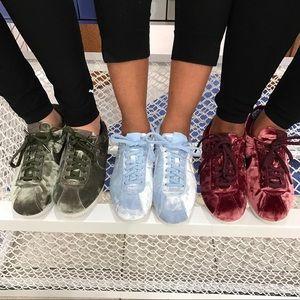 776e91a9b3 ... norway nike shoes nike olive velvet cortez sneakers 585ca e4b95