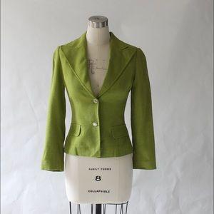 Dolce & Gabbana Fitted Viscose Blazer Jacket