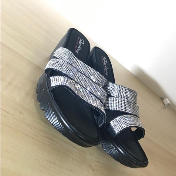 50 skechers shoes memory foam high heel support