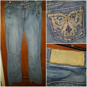 Ms Firefly embellished jeans. SIZE 10