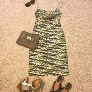 BCBGMaxAzria Multicolor Dress Size Small