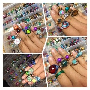 Jewelry - Mystery Hand crafted ring bundle