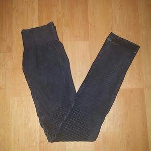 Electric Yoga Pants - ⚡SALE⚡Electric Yoga Acid Wash Biker Indigo Legging