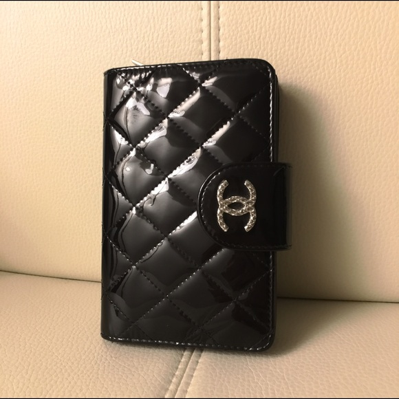 ece9ab0ff5d2 CHANEL Bags | Brilliant Quilted Patent French Purse | Poshmark