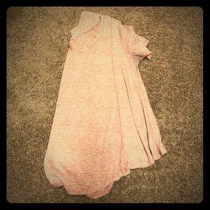 Loose Light Pink Tshirt