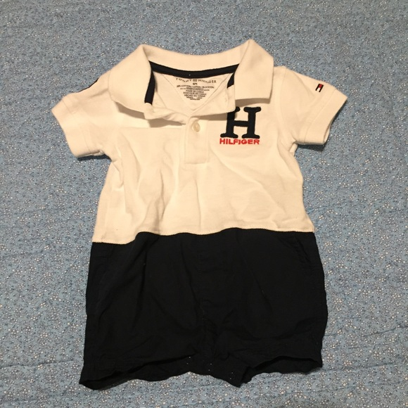 fb2ed8c53 Tommy Hilfiger One Pieces | 6 Month Old Baby Boy Outfit | Poshmark