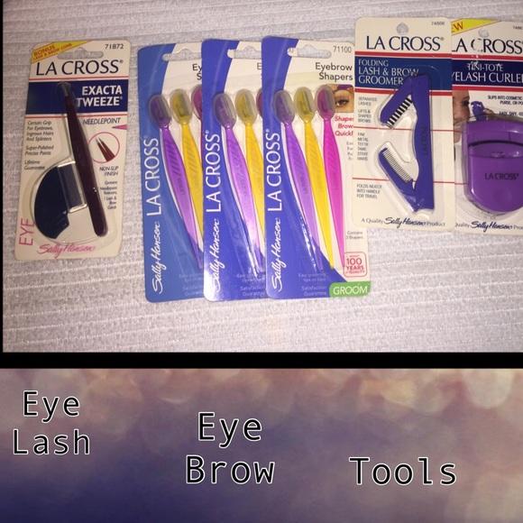 Eye Lash Brow Shaper Tweezer Comb Tools Bundle Boutique