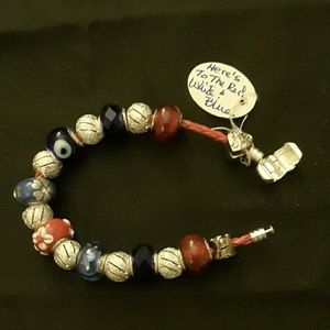 Here's to the red, white and blue bracelet