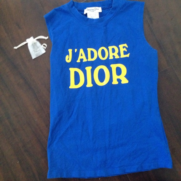 25 off dior tops authentic dior jadore t shirt with for Do gucci shirts run small