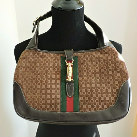 5774d1babd7d 61% off Gucci Handbags - Small Authentic Vintage Gucci Jackie O Handbag  from Margaret&#