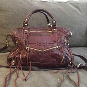 Cranberry Rebecca Minkoff leather bag