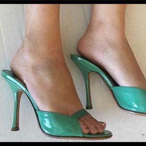 JIMMY CHOO TURQUOISE Heels 38.5