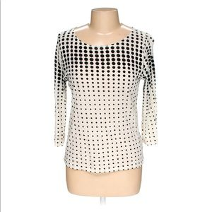 J.Crew Dotted Top