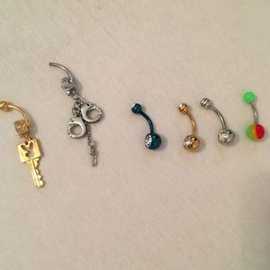 Belly Button Ring Bundle