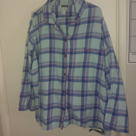 Joe Boxer Intimates Amp Sleepwear Flannel Plaid Pajamas 3x