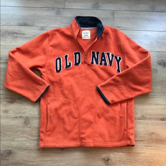 6c7763ac1 Old navy half zip up fleece jacket sweatshirt